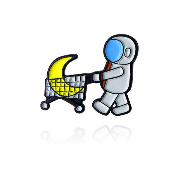 Astronaut Buying A Moon [0]
