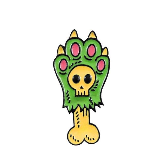 Green Zombie Cat Paw [0]