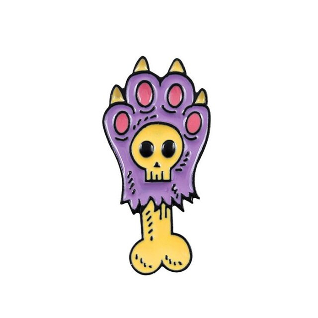 Purple Zombie Cat Paw [0]