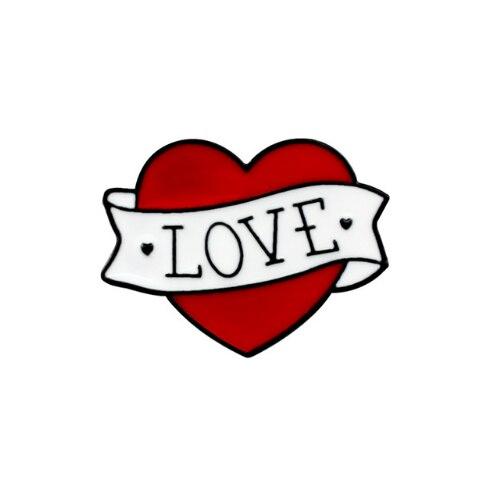Insigna Love Heart 0
