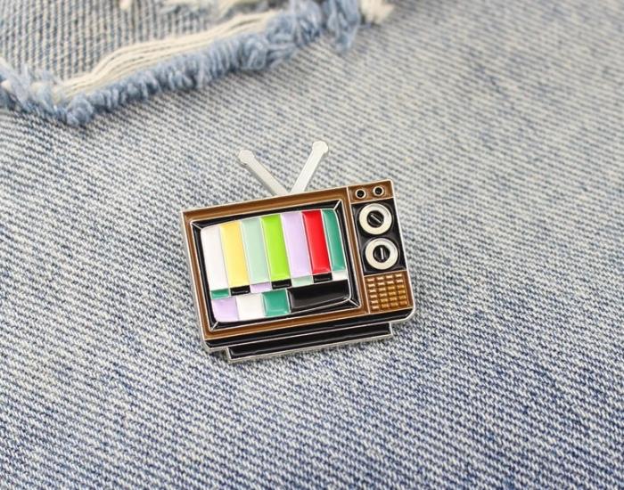Insigna No Signal TV 1