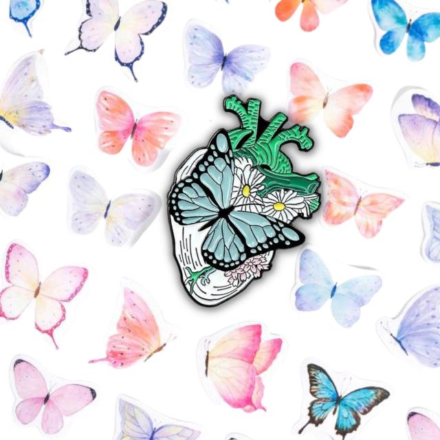 Set Butterfly Heart [1]