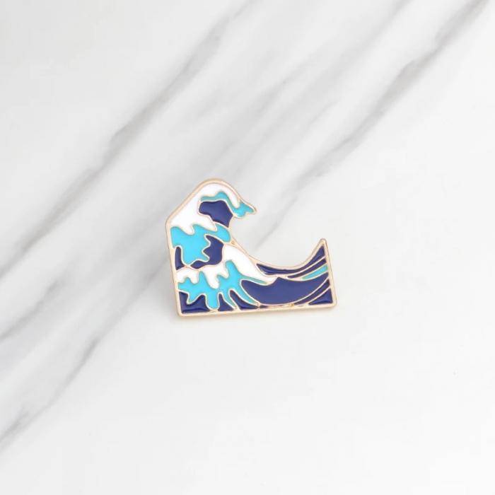 Insigna Valul Hokusai 1