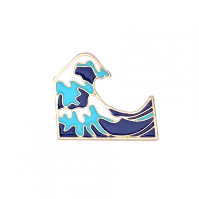 Insigna Valul Hokusai 0