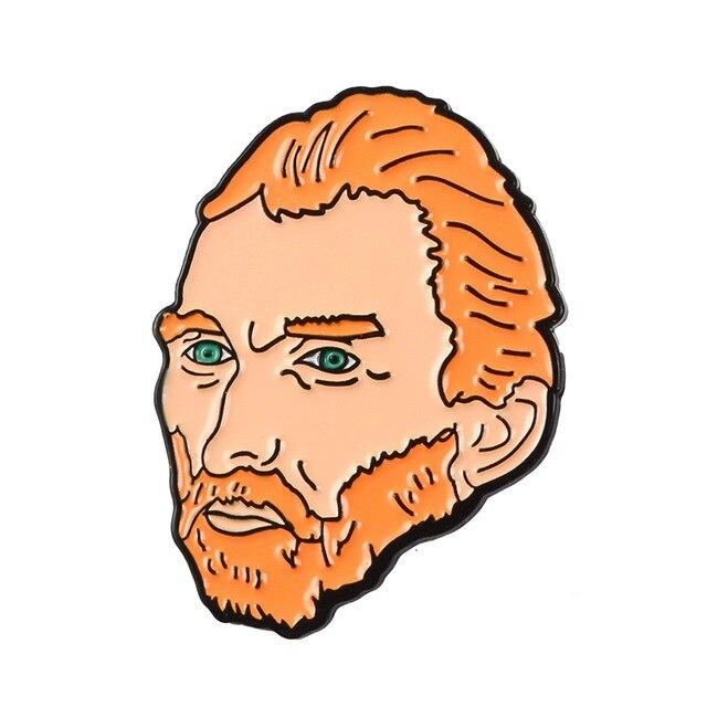 Insigna Van Gogh's Portrait [0]
