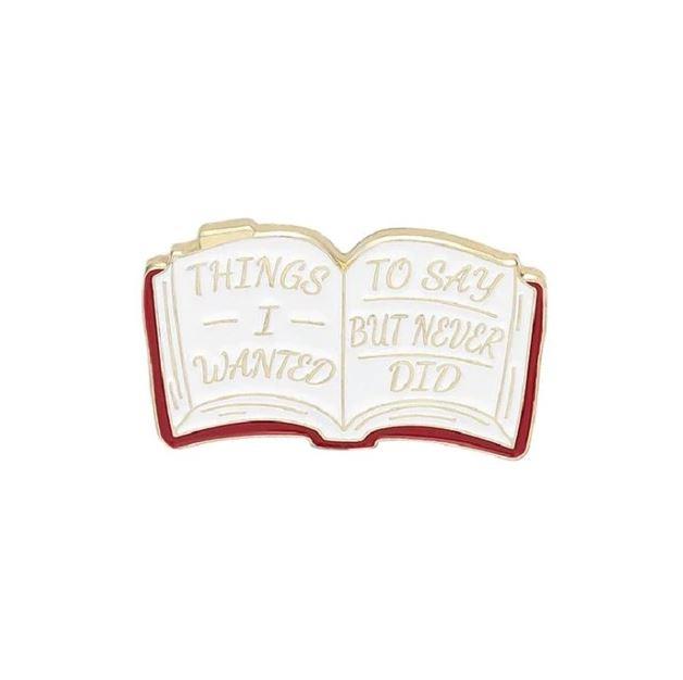 Insigna White Funny Book [0]