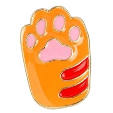 Insigna Yellow Cat Paw 0