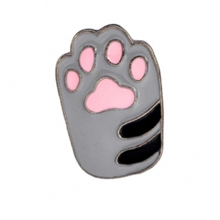 Grey Cat Paw0