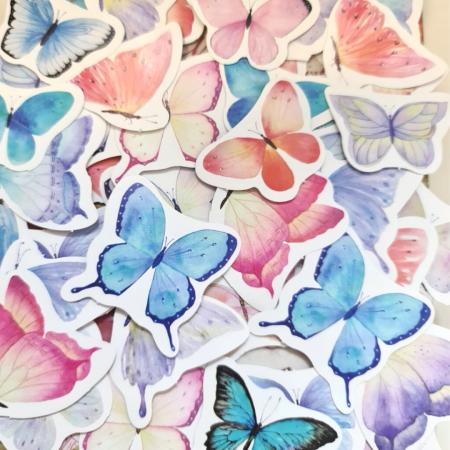 Set Butterfly Heart [3]