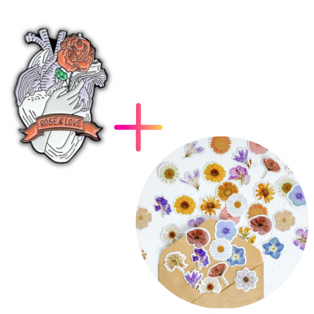 Set Rose Heart [0]