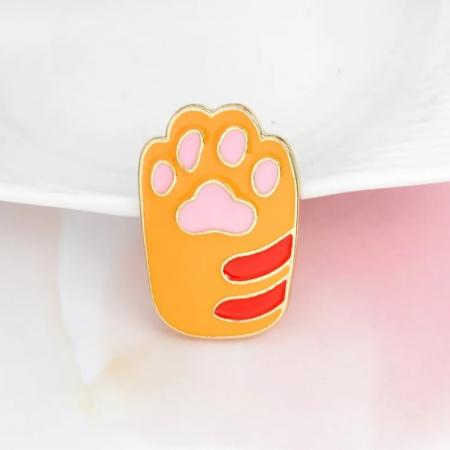 Yellow Cat Paw1