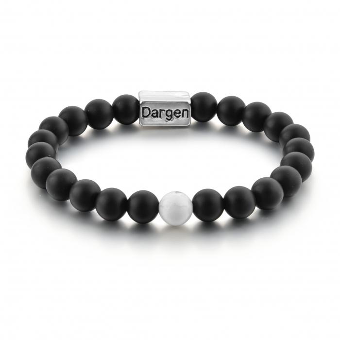 Set Bratari Perfect Balance+Colier White Howlite cu pietre semipretioase DRGSB032 - DarGEN 2