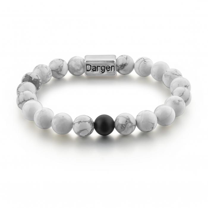 Set Bratari Perfect Balance+Colier White Howlite cu pietre semipretioase DRGSB032 - DarGEN 3