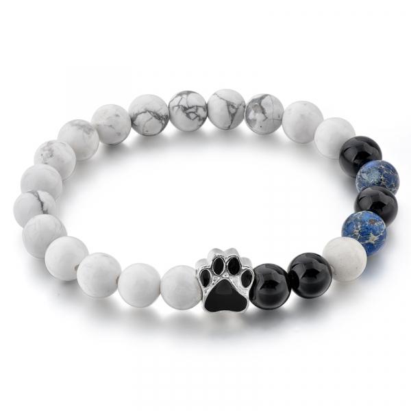 Bratara Puppy Love din pietre semipretioase DRGB0008 DarGen 0