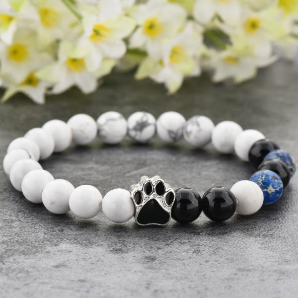 Bratara Puppy Love din pietre semipretioase DRGB0008 DarGen 10