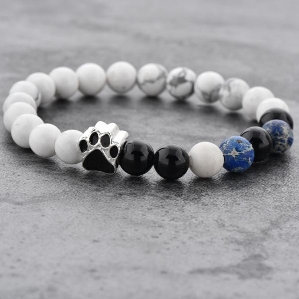 Bratara Puppy Love din pietre semipretioase DRGB0008 DarGen 9