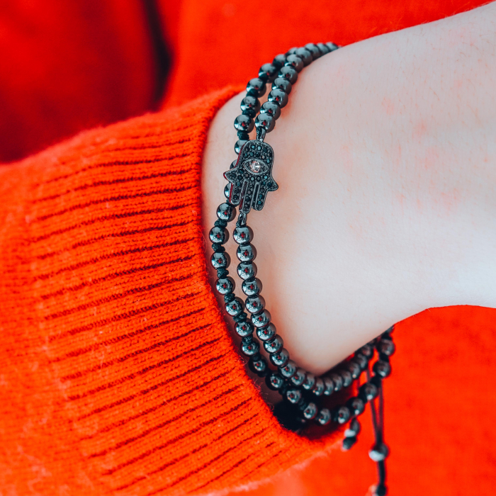 Bratara Anaitis Black din pietre semipretioase DRGB0112 DarGen [1]