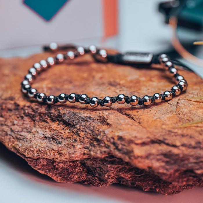 Bratara Celest Black din pietre semipretioase DRGB0138 DarGen [5]