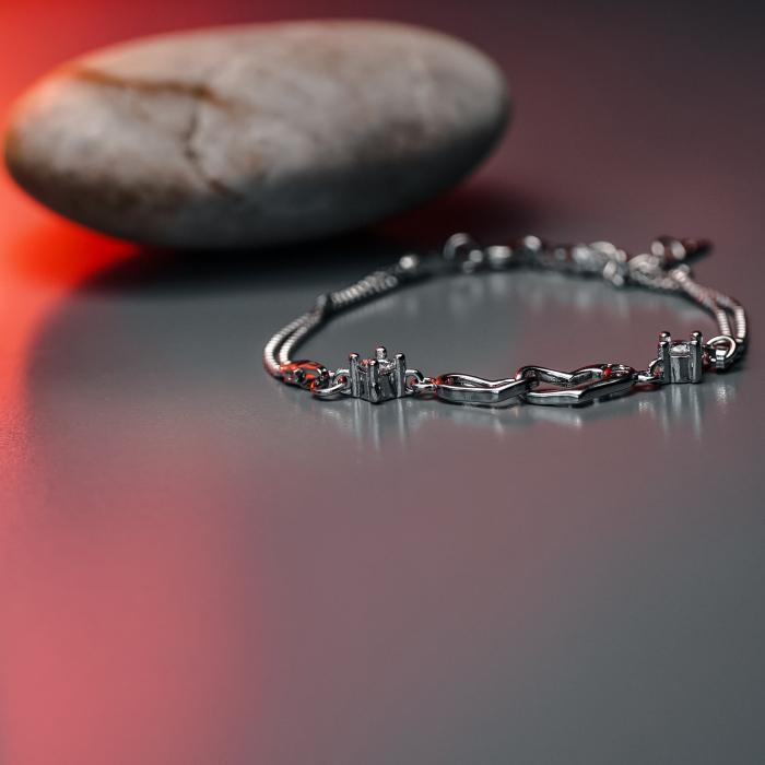 Bratara Mayfield din argint 925 si diamante CZ DRGB0054 DarGen 3