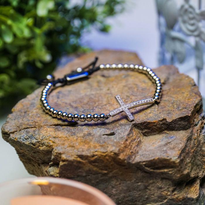 Bratara Milagro Silver din pietre semipretioase DRGB0115 DarGen [6]
