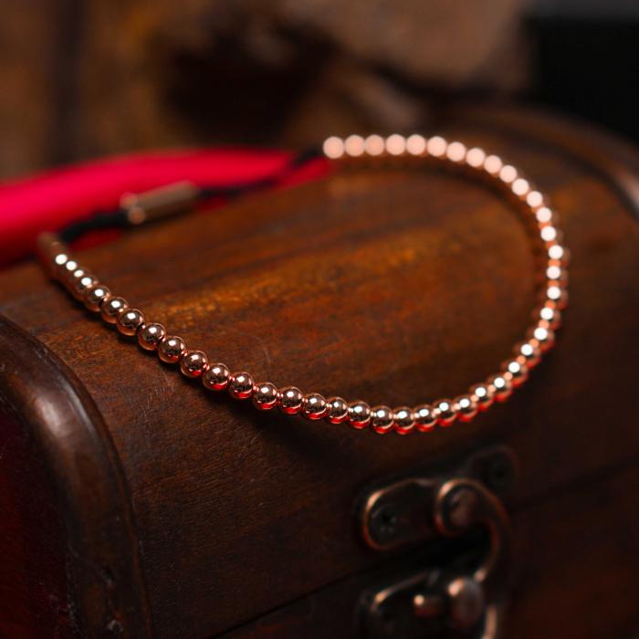 Bratara Myo Rose Gold placata cu aur DRGB0143 DarGen [5]