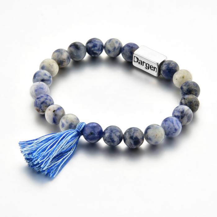 Bratara Shao Blue din pietre semipretioase DRGB0107 DarGen 2