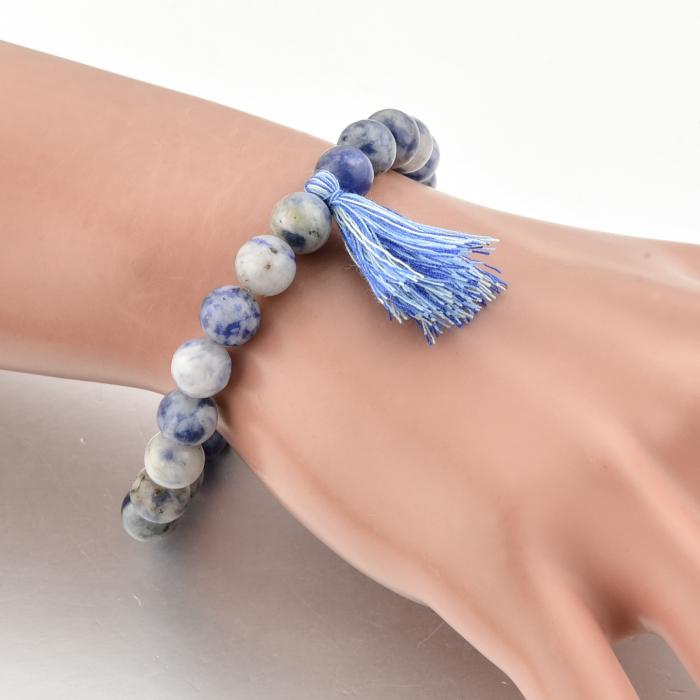 Bratara Shao Blue din pietre semipretioase DRGB0107 DarGen 1