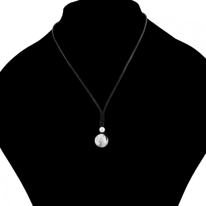 Set Bratari Perfect Balance+Colier White Howlite cu pietre semipretioase DRGSB032 - DarGEN 9