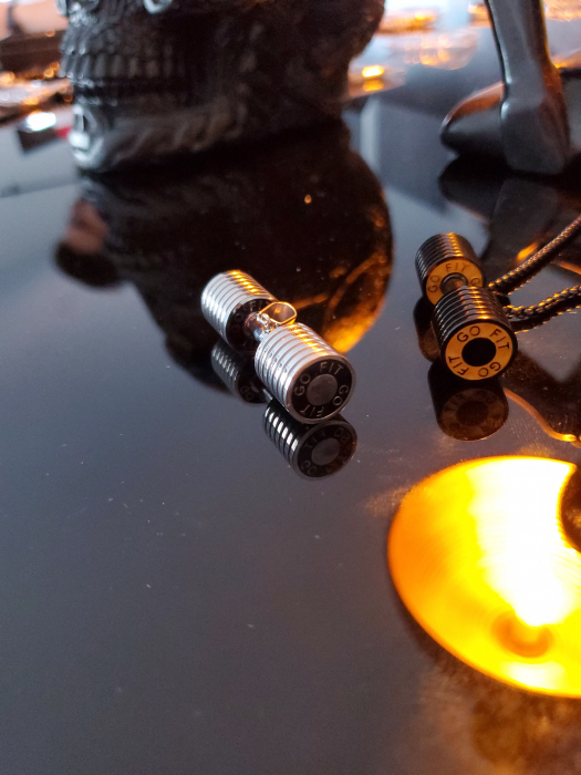 Lantisor cu Pandantiv Bjorn Silver Gantera din otel inoxidabil DRGL0013 DarGen 5