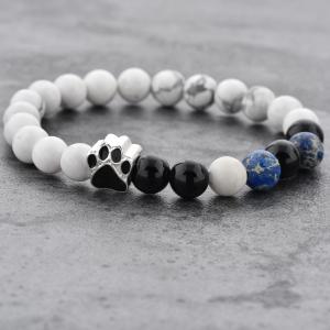 Bratara Puppy Love din pietre semipretioase DRGB0008 DarGen9