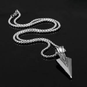 Lantisor cu Pandantiv Hudson Silver din otel inoxidabil DRGL0020 DarGen1