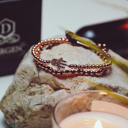Bratara Anaitis Rose Gold placata cu aur DRGB0111 DarGen [4]