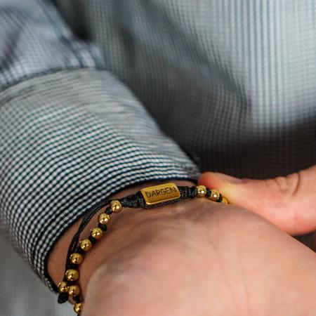 Bratara Celest Gold placata cu aur DRGB0136 DarGen [4]
