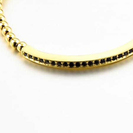 Bratara Eliana Gold placata cu aur DRGB0092 DarGen3