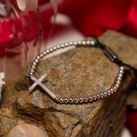 Bratara Milagro Silver din pietre semipretioase DRGB0115 DarGen [7]