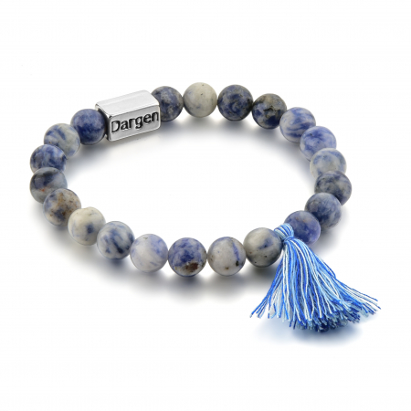 Bratara Shao Blue din pietre semipretioase DRGB0107 DarGen0