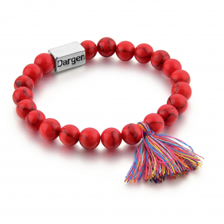 Bratara Shao Red din pietre semipretioase DRGB0106 DarGen0