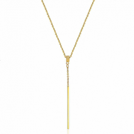 Lantisor cu Pandantiv Casidy Gold din otel inoxidabil DRGL0038 DarGen0