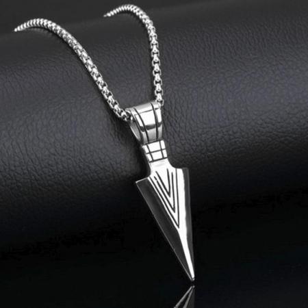 Lantisor cu Pandantiv Hudson Silver din otel inoxidabil DRGL0020 DarGen [7]