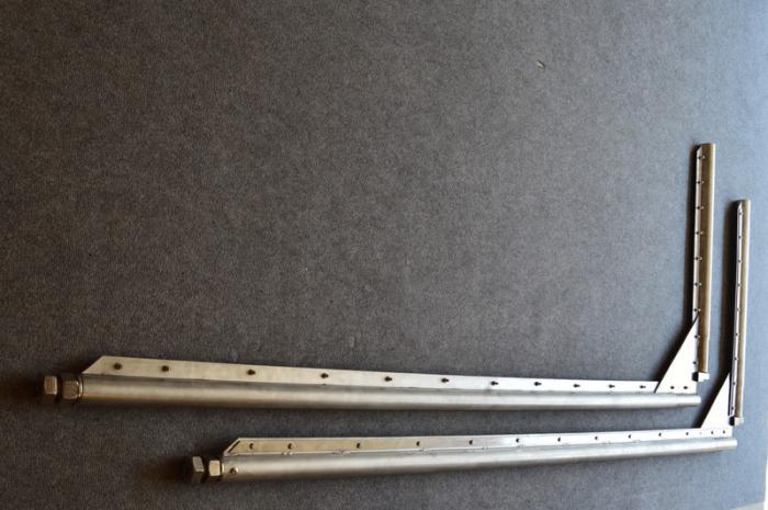 Usa batanta DARFLEX cu folie pvc transparenta cu rama din inox [2]
