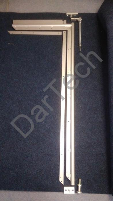 Usa batanta DARFLEX cu folie pvc transparenta cu rama din otel zincat sau vopsite [3]