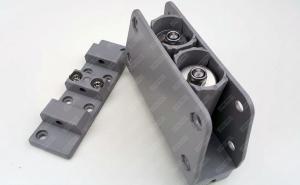 Balama ușii batante, din plastic  la set de 6 buc1