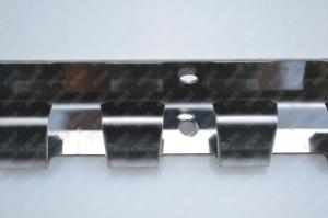 Bara de prindere din otel inoxidabil 984x1.5 mm ,1 cutie = 20 buc  pentru Perdea din Folie PVC2