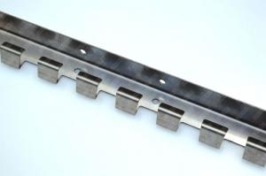 Bara de prindere din otel inoxidabil 984x1.5 mm ,1 cutie = 20 buc  pentru Perdea din Folie PVC0