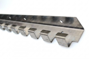 Bara de prindere din otel inoxidabil 984x1.5 mm pentru Perdea din Folie PVC1