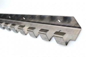Bara de prindere din otel inoxidabil 984x1.5 mm ,1 cutie = 20 buc  pentru Perdea din Folie PVC1