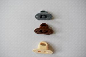 Set 100 bride rotative din plastic pentru montaj prelate sau panouri PVC Transparent3