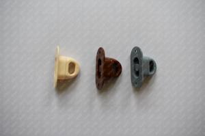 Set 100 bride rotative din plastic pentru montaj prelate sau panouri PVC Transparent2