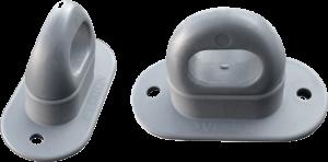 Brida rotativa plastic cu ureche rotunda 51x34x13 mm0