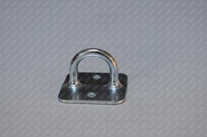 Brida rotunda cu talpa patrata 21x26 mm0